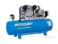 Eccoair Çift Kademeli Pistonlu Kompresör ECCO 5,5-300 T