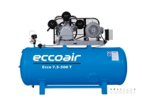 Eccoair Çift Kademeli Pistonlu Kompresör ECCO 7,5-500 T